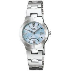 Casio Women S Silver Stainless Steel Strap Watch Ltp 1241D 2Adf Shop