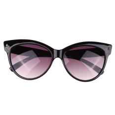 Cat Eye Fashion Sunglasses Uv400 Bright Black By Welcomehome.