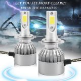 Get The Best Price For Cheer C9 H7 110W 20000Lm Led Light Headlight Kit Car High Low Beam Bulb Kit 6000K Fog Lamp Silver Intl