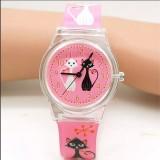 For Sale Children Silicone Wristwatches Waterproof Kid Watches Brand Quartz Wrist Watch Baby For Girls Boys Fashion Casual Reloj Intl
