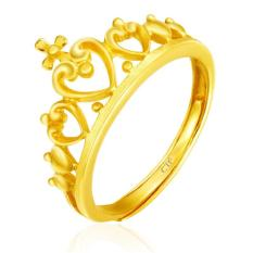 How To Buy Chow Tai Fook 999 9 Pure Gold Crown Ring
