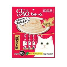 Retail Price Ciao Churu White Meat Tuna Scallop Flavor 14G X 10