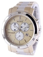 Great Deal Citizen Eco Drive Women S Two Tone Rose Gold Stainless Steel Strap Watch Fb1346 55Q