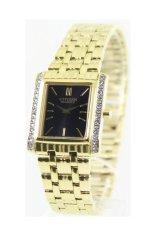 Top Rated Citizen Quartz Swarovski Crystals Women S Gold Tone Stainless Steel Strap Watch Ek1122 50E