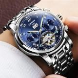 Price Classic Men S Watches Mechanical Wristwatch Sapphire Stainless Steel Gentleman Watch Fashion Man Clock Intl Kinyued China