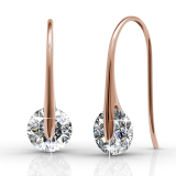 Shop For Classy Earrings Rose Gold Crystals From Swarovski®