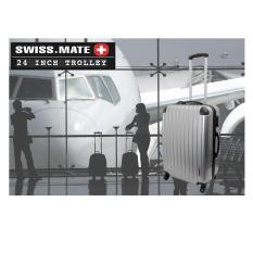 Sales Price Swissmate 24 Inch 360° Silent Wheels Trolley Lugguge