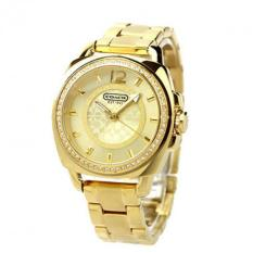 Low Price Coach Style Women S Gold Stainless Steel Watch