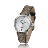 Shop For Coach Style Women S Leather Strap Quartz Watch