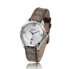 Purchase Coach Style Women S Leather Strap Quartz Watch