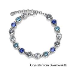 Cheap Colorful Bracelet Blue Crystals From Swarovski® Online