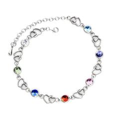 Colorful Heart Bracelet Crystals From Swarovski® Coupon Code