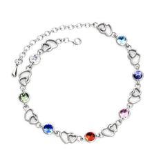 Wholesale Colorful Heart Bracelet Crystals From Swarovski®