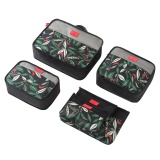 Lowest Price Coobonf Pack Of 6 Packing Cubes Travel Luggage Packing Organizers Laundry Bags Portable Cosmetic Bags Intl