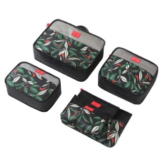 Discount Coobonf Pack Of 6 Packing Cubes Travel Luggage Packing Organizers Laundry Bags Portable Cosmetic Bags Intl China