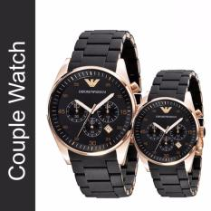 Who Sells The Cheapest Couple Emporio Armani Sportivo Watch Ar5905 And Ar5906 Online