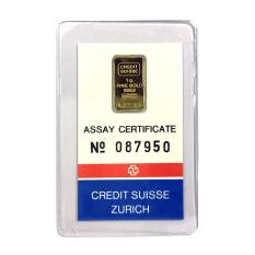 Credit Suisse Pure Gold Bar 1G Shopping