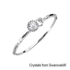 Sale Crystal Crown Bangle Crystals From Swarovski® Intl Her Jewellery