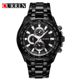 Curren 8023 Men Watches Quartz Watch Waterproof Black Black Discount Code
