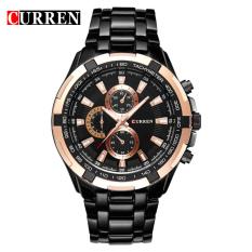 Sale Curren 8023 Men Watches Quartz Watch Waterproof Black Black Gold Online China