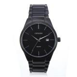 Curren 8106 Men S Black Stainless Steel Round Quartz Wrist Watch Best Price