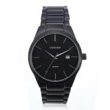 Brand New Curren 8106 Men S Stainless Steel Round Quartz Wrist Watch Black