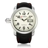 Best Offer Curren 8173 Men S Round Dial Black Lether Quartz Wrist Watch