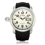 How To Buy Curren 8173 Men S Round Dial Black Lether Quartz Wrist Watch