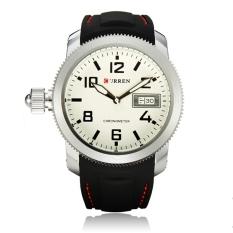 Price Curren 8173 Men S Round Dial Black Lether Quartz Wrist Watch Curren Online
