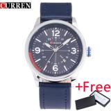 Review Curren 8215 New Fashion Casual Quartz Watch Men L Wrist Watch Relojes Calendar Sports Watch Intl On China