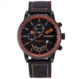 Where Can You Buy Curren Fashion Men Sports Date Analog Quartz Leather Wrist Watch Cur117 Intl
