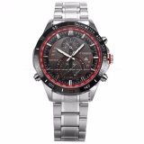 Curren Men S Analog Date Display Silver Stainless Steel Band Sport Quartz Wrist Watch Cur042 Intl Compare Prices