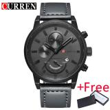 Buy Curren Watch For Men Brand Quartz Watch Men S Round Dial Analog Watch With Date Display 8217 On China