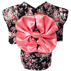 Cute Japanese Kimono Style Apparel Costume Pet Clothes For Dog Puppy Cat Skirt Dress Clothing Black Size L By Vococal Shop.