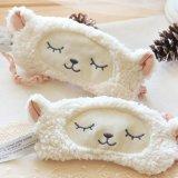 Cute Plush Sheep Sleeping Face Eye Mask Blindfold Eyeshade Traveling Sleep Eye White Intl Discount Code