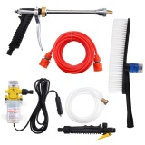 Dc 12V 100W 160Psi High Pressure Car Washer Cleaner Water Wash Pump Sprayer Kit Intl In Stock