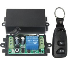Retail Price Dc 12V Relay 1Ch Wireless Rf Remote Control Switch Transmitter Receiver Intl