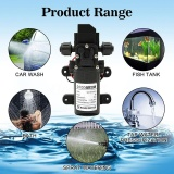 Buy Dc12V 70W 130Psi 6L Min Water High Pressure Diaphragm Self Priming Pump Scr*w Thread Type Intl Oem Cheap