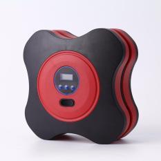 Sale Digital Pre Set Portable 12V 156W Car Tire Inflators Pump Mini Digital Car Air Compressors Auto Stop Pump Red Intl Unbranded Original