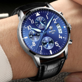 Best Buy Dita Men S Waterproof Trendy Luminous Steel Quartz Watch