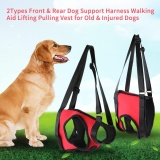 Cheapest Dog Support Harness Pet Walking Aid Lifting Pulling Vest For Old Injured Dogs Rear Leg L Intl