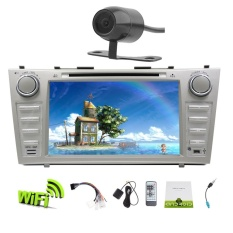 List Price Eincar In Dash Android 6 Double Din 8 Inch Capacitive Touch Screen Car Stereo Dvd Player Gps Navigation With Wifi Bluetooth Mirror Link Swc For Toyota Camry 2007 2012 With Backup Camera Intl Eincar
