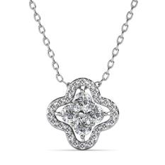 Best Offer Elegant Clover Pendant Crystals From Swarovski®