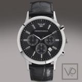 Buy Emporio Armani Black Dial Chronograph Men S Watch Ar2447 Cheap On Singapore