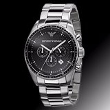 Review Emporio Armani Sportivo Men S Stainless Steel Strap Watch Ar0585 Singapore