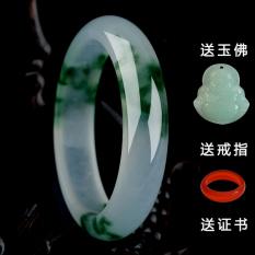 Price Women S Natural Emerald Color A Grade Jade Bracelet Oem