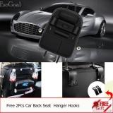 Price Esogoal Car Backseat Organizer Pu Leather Auto Back Car Seat Organizer Holder Pocket Storage Kick Mats With 2 Hooks Black Intl Esogoal New