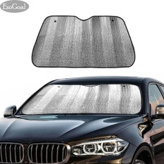 Esogoal Car Sunshade Solar Reflective Vehicle Cool Jumbo Sun Shades Block Uv Rays Front Car Sunshade Windshield With 2 Suction Suckers For Car Suv Trucks Vans - Intl By Esogoal.