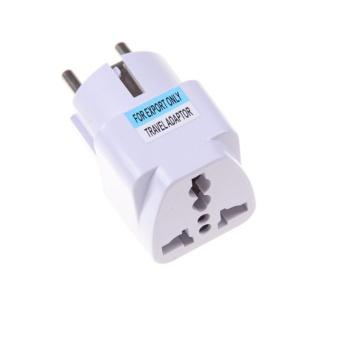 European AC Power Plug Travel Wall Adapter Converter