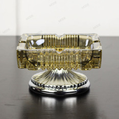 European high-grade luxury crystal glass ashtray